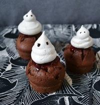 Cupcake Fantôme d'Halloween