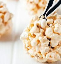 Boules figue et pop-corn