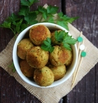 Veggie chickpea and zucchini balls