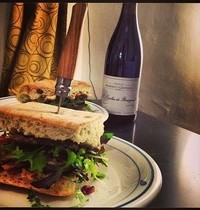 Beef and brie sandwich