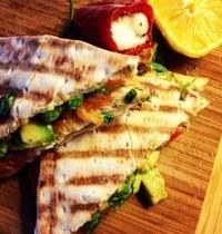 Scandinavian brunch sandwich