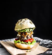 BUNS fait maison & Guacamole burger