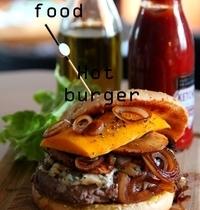 Mango & Roquefort burger