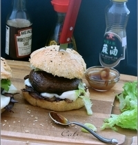 Burger Portobello (sans viande)