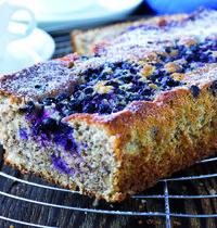 Cake à la confiture de myrtille