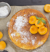 Cake aux abricots de l'Hérault