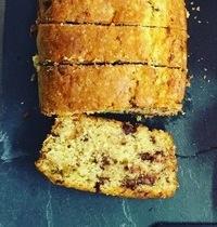Cake banane chocolat de mamie Jocelyne