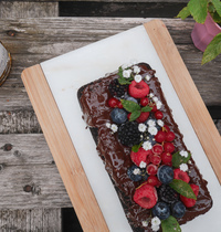 CAKE CHOCOLAT & HUILE D'OLIVE GLUTENFREE