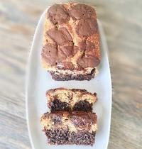 Cake marbré chocolat healthy 460cal