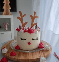 Cake Renne de Noël
