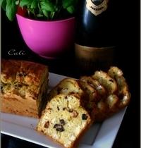 Cake Salé (au Yaourt) au Tofu, Pesto & Feta