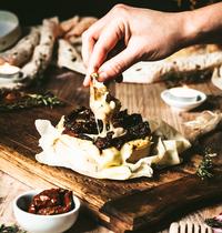 Camembert rôti gratiné