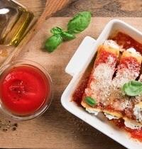 Cannellonis ricotta, épinards et jambon cuit