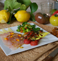 Carpaccio de rouget