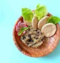Caviar d'aubergine au miel et 4 épices, crakers maison