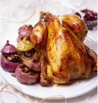 New York style roasted free-range capon