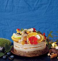 Cheese-cake cru de Noël par Angèle Ferreux-Maeght