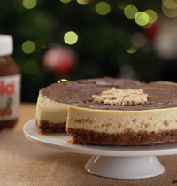 Cheesecake au Nutella®