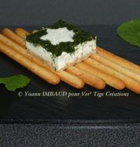 Cheesecake épinards & menthe