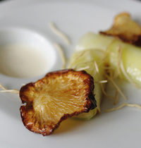 Turnip chips