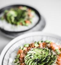 Chirashi / Saumon, Avocat, concombre & edamames