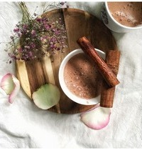 Chocolat chaud chai vegan