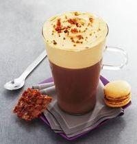 Chocolat gourmand façon tiramisu et croustillant aux noisettes