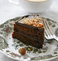 Chocolate Fudge Cake sans gluten, sans lactose et IG bas