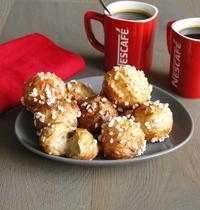 Chouquettes à la crème café