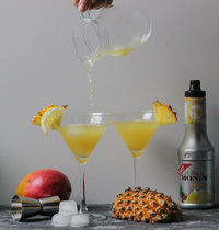 Cocktail Mangue-Ananas
