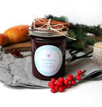 Confiture de Noël Cranberry Pomme Cannelle
