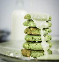 Cookies au thé matcha et chocolat blanc : recette express !
