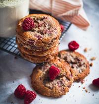 Cookies Framboises & chocolat