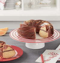 Couronne de Noël à l'orange et au Nutella®