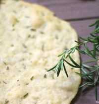 Crackers au romarin