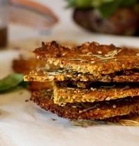 Crackers Carotte & Romarin