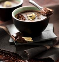 Crème au chocolat sans lactose