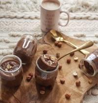 Crème chocolat - noisette façon la laitière