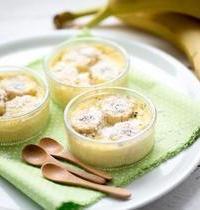 Crème de banane parfumée au rhum