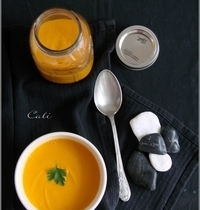 Crème de Courge au Lait de Coco (cuisson vapeur)