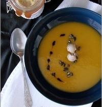 Crème de Potimarron au Foie Gras & Balsamique