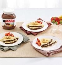 Crêpes au Nutella et aux fruits
