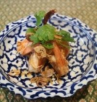 Crevette sauté au tamarin   goong phad sauce ma khaam
