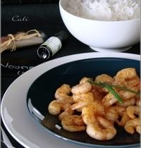 Crevettes Sautées au Niaouli