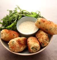 Cromesquis poêlés aux légumes