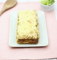 Croque-cake jambon & fromage