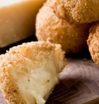 Parmesan cheese croquettes