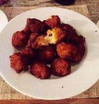 Croquettes de butternut au comté