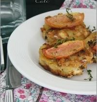 Croquettes de Pommes de Terre à la Feta & aux Olives Noires