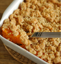Gluten-Free Sweet Potato Crumble